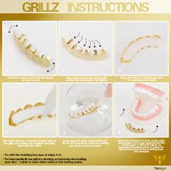 How to use grillz
